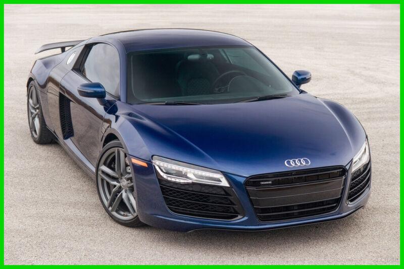 Image 1 Voiture Européenne d'occasion Audi R8 2014