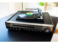 Vintage Turntable GEC Soundeck System 2821 Record Player with Speakers *Professionally Restored*