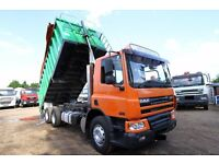 2004 DAF CF 75.310 6X4 BULK TIPPER FOR SALE IN LONDON TRUCKS FOR SALE VOLVO TIPPER MAN DAF