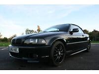 2001 BMW 330CI M Sport Auto, Convertible, Leather, black, E46