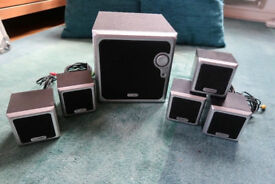 5.1 Technika Speaker System - Ideal for Home Cinema Use