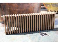 Column Horizontal Radiator Bronze