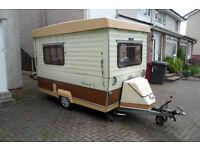 Gobur 10/2T classic folding caravan