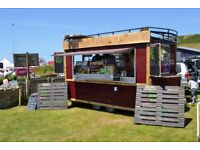 Tram Style Catering trailer