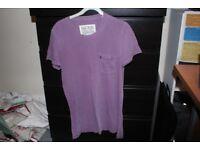 Mens XS purple Jack Wills t-shirt