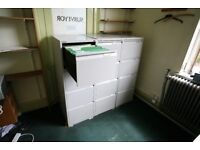 Assorted filing cabinets- sold separately