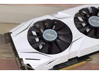 Asus AMD Radeon Dual RX480 8GB White (Graphics Card / Video Card / GPU / GFX)