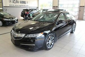 2015 Acura TLX AUTO 8 SPEED 0.9% 60 MOIS+CUIR+TOIT+BLUETOOTH+CAM