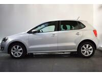 VOLKSWAGEN POLO 1.2 MATCH EDITION 5d 59 BHP (silver) 2013