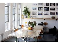 Desk spaces available at The Old Vyner Street Gallery, E2