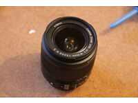 Canon EF-S Zoom Lens 18-55 mm IS II - f/3.5-5.6 + 58mm UV filter