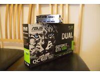 ASUS NVIDIA GeForce GTX 1060 DUAL O.C. 6GB Graphics Card