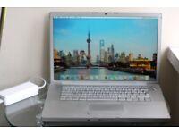 Apple MacBook Pro 15-inch with El Capitan OS! Core 2 Duo 2.2GHz - 2GB RAM - 80GB HD + MagSafe