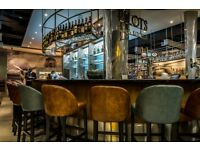 Waiter/Waitress for Pilots Bar & Kitchen Restaurant – Heathrow Terminal 5 Airside