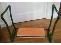 GARDEN KNEELING/SITTING STOOL