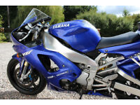 2001 Yamaha YZF R1 - Low mileage - Price Reduced! (Now £2350)