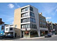 A top floor two bedroom, two bathroom apartment within this small modern development in Highbury.