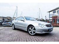 Mercedes-Benz CLK 2.6 CLK240 Avantgarde 2dr, MASSIVE SPEC £7000 OPTIONS! PLEASE VIEW FULL SPEC...