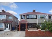 FOUR BEDROOM SEMI-DETACHED HOUSE TO RENT, EDGWARE HA8