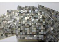 Mosaic Glass Squares 300 x 300mm