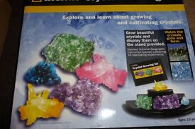 National Geographic Crystal Growing Kit, 10+ Years,Growing & Cultivating Crystals,See Info, Histon