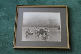 Framed vintage photo of Whitby