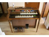 Electric Analog Organ Thomas Playmate Antique Retro 50s 60s Instrument Vintage Free to a Good Home