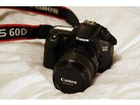 Canon dslr 60d camera, excellent condition