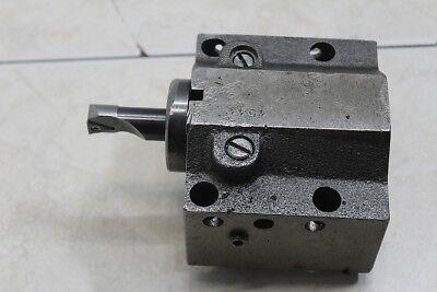 Mazak Bolt-on Style Tool Holder 1.5 4544 For Quick Turn Qt Machines Qt-18