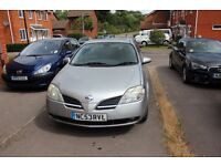 Nissan Primera for sale in good condition!