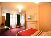 Large refurbished double room close to town. Professionals. £420 inclusive. No fees to pay.