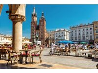 🌞early October Sun/City trip? = or Kraków? A few nights' away...