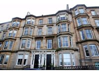 Beautifully presented furnished flat with two double bedrooms and a box room, in Glasgow's West End.