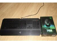Razer Taipan (Boxed New) + Razer DeathStalker Keyboard (Used)