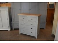 CHESTER GREY 2+3 Chest of Drawers