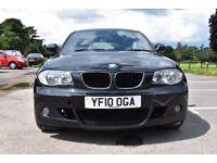 BMW 1 SERIES 120D M SPORTS 2.0 DIESEL STOP START 2010 6 SPEED MANUAL 5DOORS