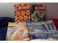 Salters Nuffield AS and A2 Biology- 2 books-new for 2015 (latest)Pearson+3*biology review magazines
