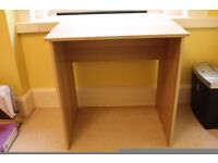 Wooden Ikea Baldvin Oak Effect Desk For Sale-Reduced Price-Must be gone by Friday 23rd June