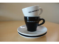 Two Audi Quattro espresso cups - Used - Good condition - Open for price offers :)