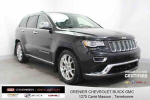 2014 Jeep GRAND CHEROKEE SUMMIT DIESEL SUMMIT CUIR TOIT GPS
