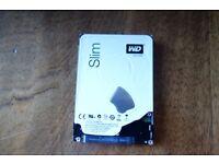 """WD Blue 1TB 2.5"""" Slim Hard Disk Drive 5400RPM - NEW"""