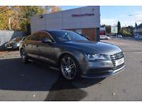 Audi A7 3.0 TDI S Line Sportback MultiTronic 5dr Daytona Grey Pearl MMI Nav Plus 4 Zone Climate BOSE