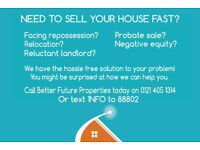 Need To Sell Your House In Birmingham Fast?