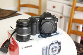 Canon EOS 30D with 18-55 lens very good condition