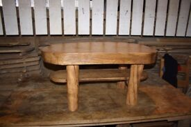 Hand made Rustic Coffee table from oak and plum wood