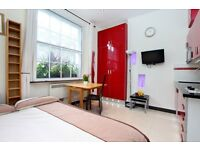 STYLISH STUDIO FLAT IN THE HEART OF MARYLEBONE *** STUDENTS BOOK NOW FOR SEPTEMBER ***