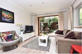 Spacious 2 double bedroom ground floor flat with patio garden in Wandsworth common