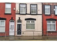 REDUCED 24 Oakfield Rd, Anfield. 3 bed terrace with DG & GCH. Downstairs bathroom. LHA welcome