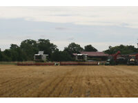Arable Operator including Combine Driving