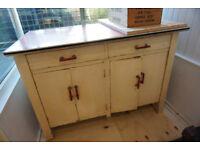 Beautiful Unique Red & White 1950's Retro Kitchen Unit DELIVERY AVAILABLE CENTRAL EDINBURGH